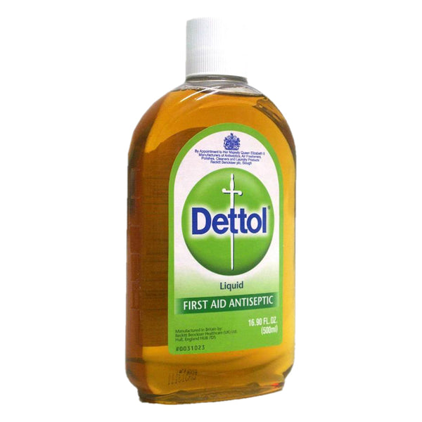 Dettol First Aid Antiseptic 500Ml - Parasiticides Dettol - Canada