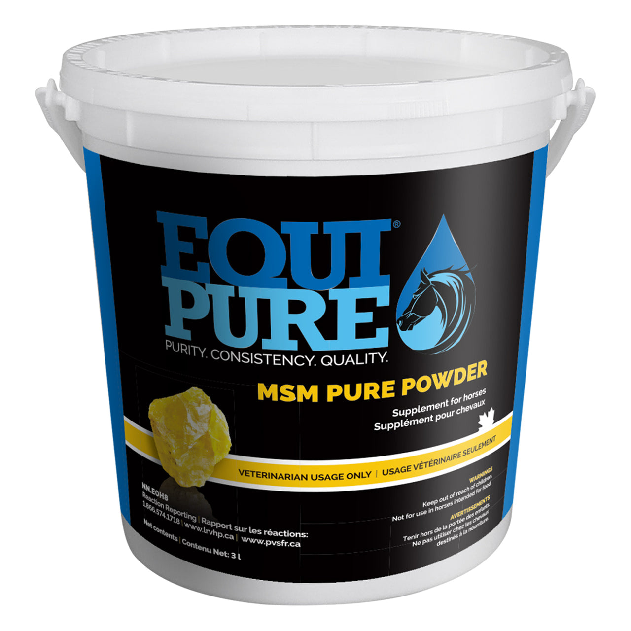 Equipure Msm Pure Powder 3Lbs - Equine Supplements Equipure - Canada