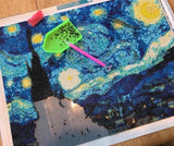"""Starry Night"" Diamond Puzzle Kit - HavenTree - The Self Care Shop"