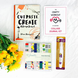 Cut, Paste, Create Collage Journal Kit - HavenTree - The Self Care Shop