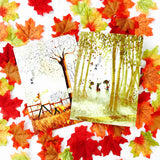 Autumn Notebook Set - 2 pack - HavenTree - The Self Care Shop