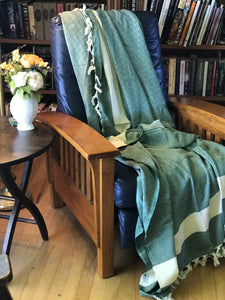 The Yeliz Turkish Cotton Blanket (Extra Large) - HavenTree - The Self Care Shop