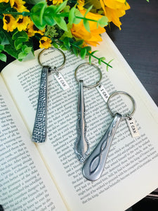 """I Can"" Vintage Spoon Keychain - HavenTree - The Self Care Shop"
