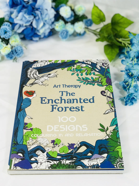 The Enchanted Forest Art Therapy Adult Coloring Book - HavenTree - The Self Care Shop