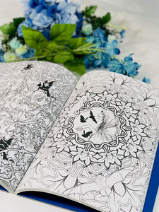 PRACTICALLY PERFECT The Enchanted Forest Art Therapy Adult Coloring Book - HavenTree - The Self Care Shop