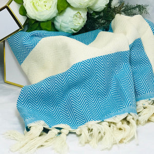 The Yeliz Turkish Towel - HavenTree - The Self Care Shop