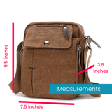 """The Magic Bag"" - Multifunctional Canvas Crossbody - HavenTree - The Self Care Shop"