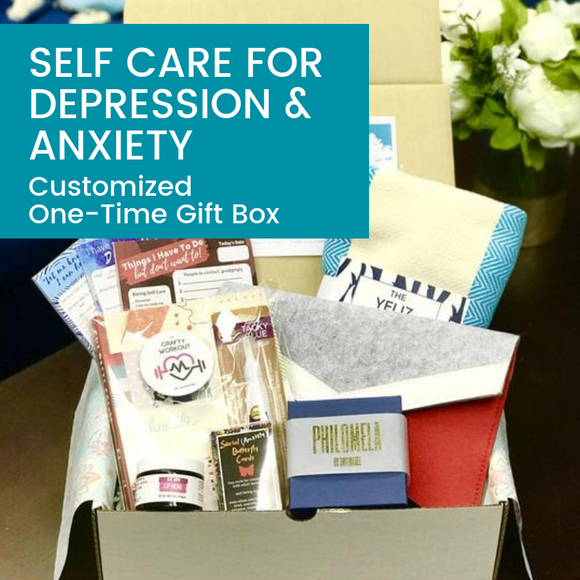 Self Care for Depression & Anxiety Gift Box - HavenTree - The Self Care Shop