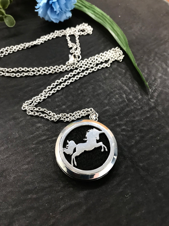 Unicorn Aromatherapy Diffuser Necklace Set - HavenTree - The Self Care Shop