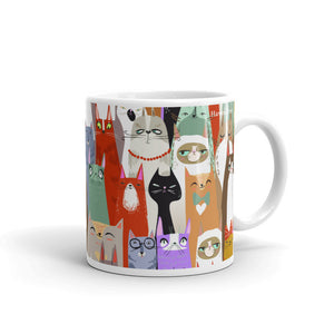 Disgruntled Cats Mug - HavenTree - The Self Care Shop