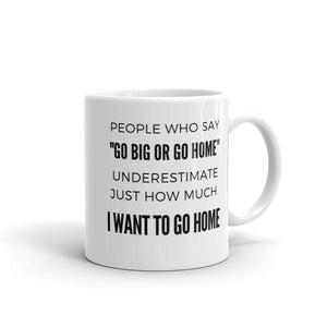 """I Want to Go Home"" Mug - HavenTree - The Self Care Shop"