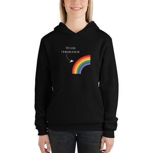 A Hill I'm Willing To Die On Unisex Luxe Hoodie - HavenTree - The Self Care Shop