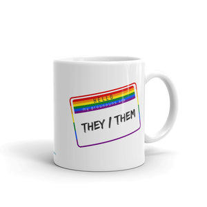 My Pronouns are They/Them Mug - HavenTree - The Self Care Shop