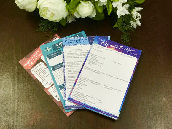 Self Care Notepad Set - All 4 - HavenTree - The Self Care Shop