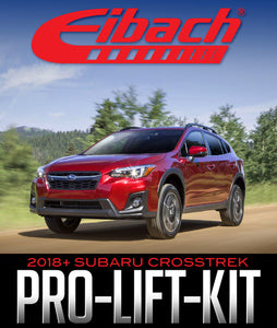EIBACH PRO-LIFT-KIT SPRINGS: 2018+ SUBARU CROSSTREK
