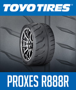 WE NOW CARRY TOYO TIRES PROXES R888R