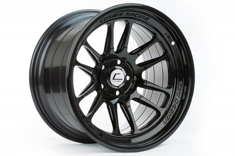 Cosmis Racing XT-206R Black Wheel 17x9 +5mm 5x114.3