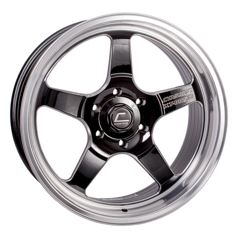 Cosmis Racing XT-005R Black w/ Machined Lip Wheel 20x9.5 +15mm 6x139