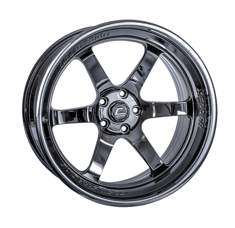 Cosmis Racing XT-006R Black Chrome Wheel 20x11 +5mm 5x120