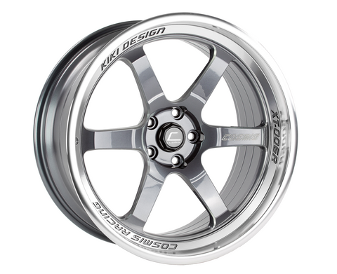 Cosmis Racing XT-006R Gun Metal w/ Machined Lip Wheel 20x9.5 +10mm 5x114.3