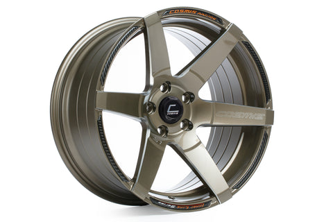 Cosmis Racing S1 Bronze w/ Milled Spokes 18x9.5 +15mm 5x114.3 Wheel