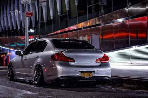 ARK Performance GRiP Collection Cat-back Exhaust Burnt tips Infiniti Q40 (G35/G37) Sedan (07-15)