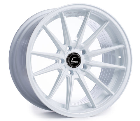 Cosmis Racing R1 White Wheel 18x8.5 +35mm 5x114.3