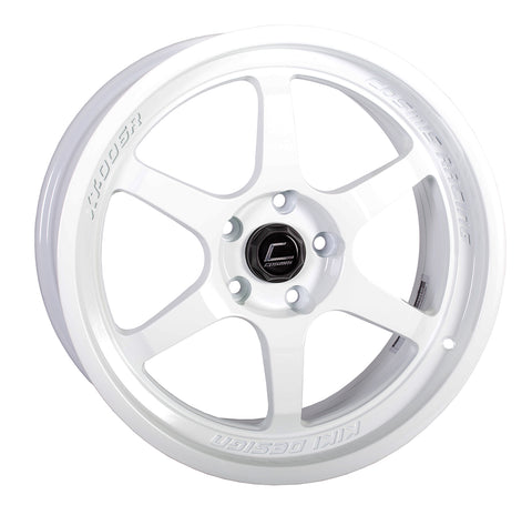 Cosmis Racing XT-006R White Wheel 18x9 +35mm 5x114.3