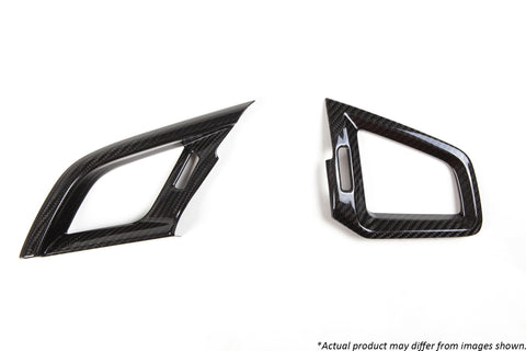 Revel GT Dry Carbon  A/C Vent Cover (Left & Right) 2016-2018 Honda Civic *2 PCS