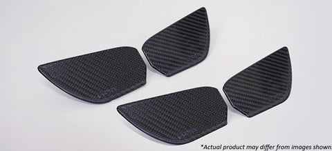 Revel GT Dry Carbon  Door Trim Inner Handle (FL, FR, RL, RR) 2016-2018 Honda Civic *4 PCS