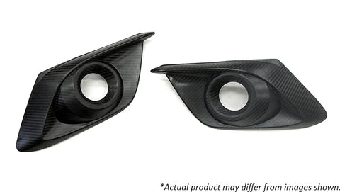 Revel GT Dry Carbon  Fog Light Cover (Left & Right) 2014-2017 Mazda Mazda3 *2 PCS
