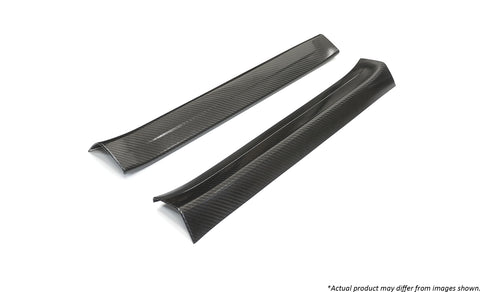 Revel GT Dry Carbon  Door Sill Cover (Left & Right) 2014-2017 Mazda Mazda3 *2 PCS