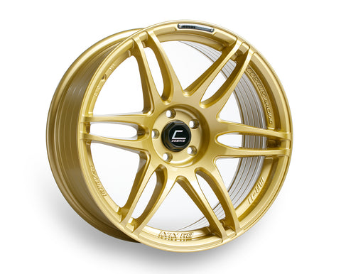 Cosmis Racing MRII Gold Wheel 18x8.5 +22mm 5x100