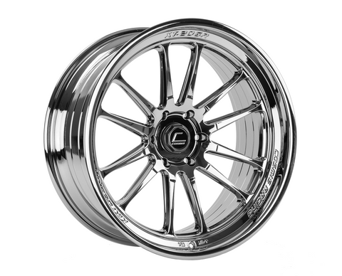 Cosmis Racing XT-206R Black Chrome Wheel 22x10 +0mm 6×139.7