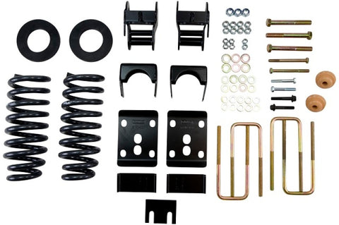 Belltech Lowering Kit 09-13 Ford F150 Std Cab Short Bed 2WD 2in or 3in F/4in Rear w/o Shocks