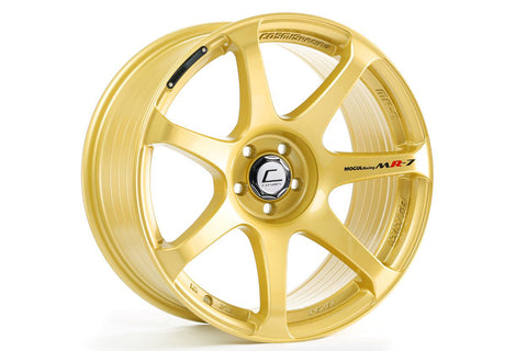 Cosmis Racing MR7 Gold Wheel 18x10 +25mm 5x114.3