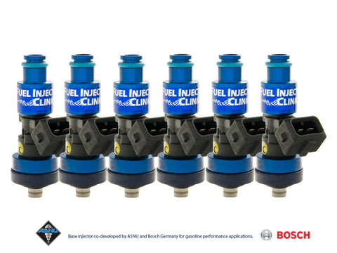 Honda J-Series ('98-'03) Fuel Injector Clinic Injector Set: 6x1650cc Saturated / High Impedance Ball & Seat Injectors.
