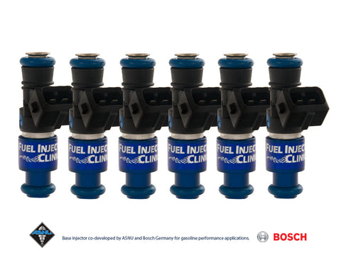 Nissan R35 GT-R Fuel Injector Clinic Injector Set: 6x1650cc Saturated / High Impedance Ball & Seat Injectors.