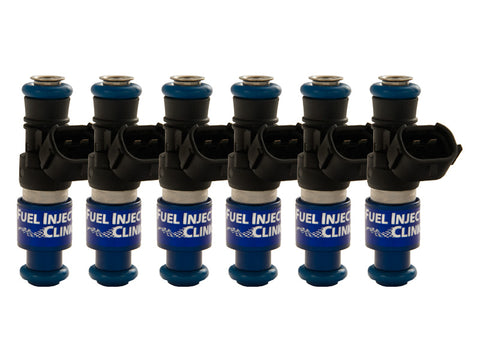 Porsche 996 Turbo Fuel Injector Clinic Injector Set: 6x2150cc Saturated / High Impedance Injectors.
