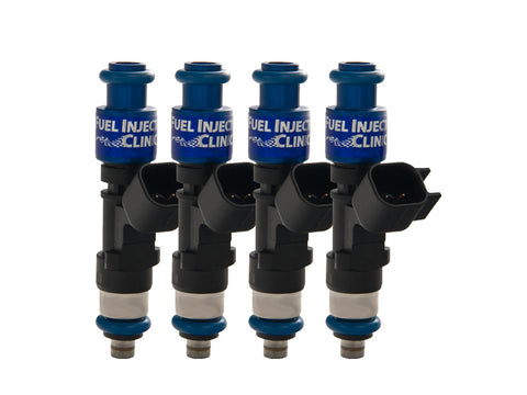 Mitsubishi DSM 420a Fuel Injector Clinic Injector Set: 4x445cc Modified Saturated / High Impedance Ball & Seat Injectors.