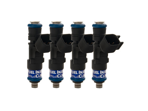 Hyundai Genesis 2.0T Fuel Injector Clinic Injector Set: 4x525cc Modified Saturated / High Impedance Ball & Seat Injectors.