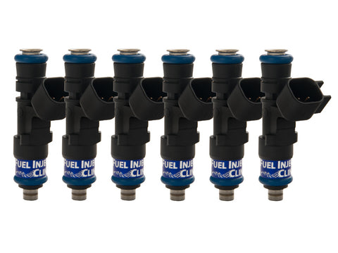 Porsche 997 Turbo Fuel Injector Clinic Injector Set: 6x650cc Saturated / High Impedance Ball & Seat Injectors.