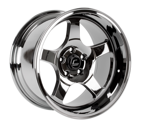 Cosmis Racing XT-005R Black Chrome Wheel 17x9.5 +5mm 5x114.3