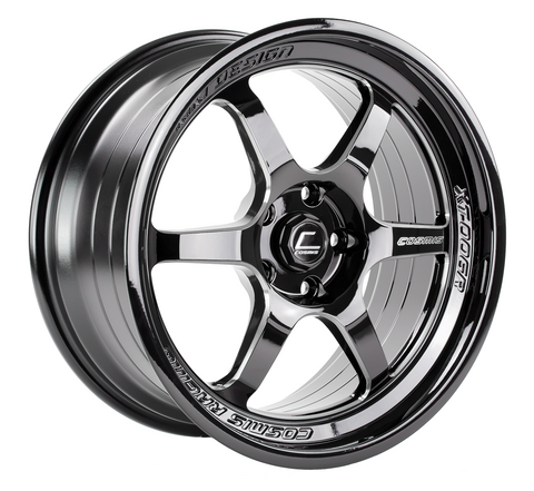 Cosmis Racing XT-006R Black w/ Machined Spokes Wheel 18x9 +35mm 5x114.3