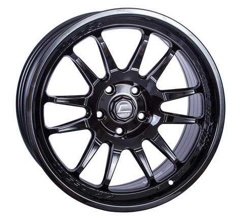 Cosmis Racing XT-206R Black Wheel 17x8 +30mm 5x100