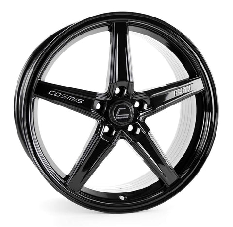 Cosmis Racing R5 Black Wheel 18x8.5 +40mm Offset 5x108