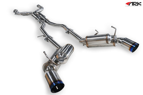 ARK Performance GRiP Collection Cat-back Exhaust Nissan 370Z (09+)
