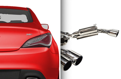 ARK Performance GRiP Collection (Cat-back Exhaust) Hyundai Genesis Coupe 2.0T (10-16)