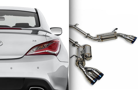 ARK Performance GRiP Collection (Cat-back Exhaust) Hyundai Genesis Coupe 3.8 (10-16)