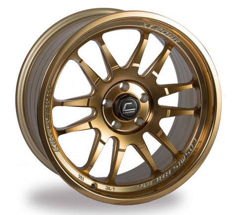 Cosmis Racing XT-206R Hyper Bronze Wheel 17x8 +30mm 5x114.3